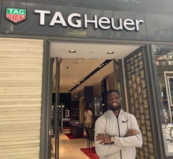 Frances Tiafoe sponsors tag heuer