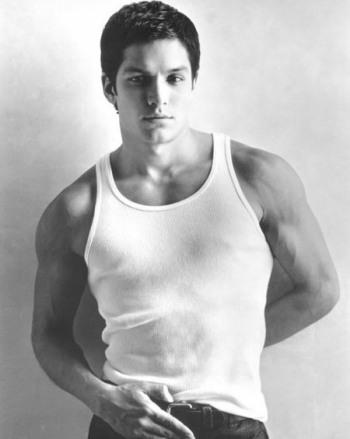Nicholas Gonzalez young hot in tank top