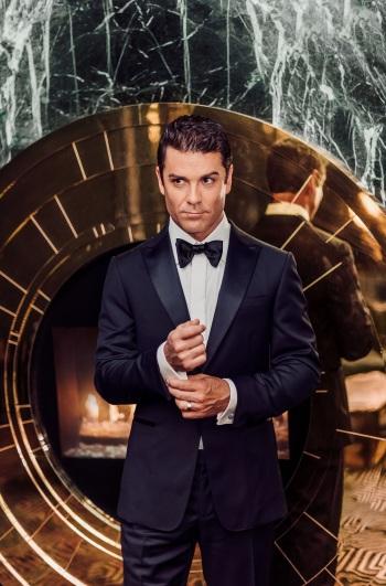 Yannick Bisson hot in suit by ermenegildo zegna from beyond fashion magazine