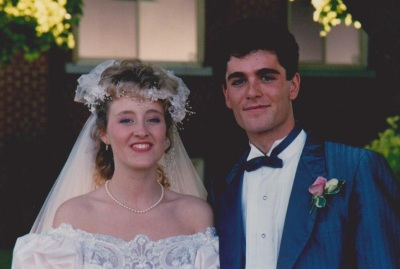 Yannick Bisson wife wedding