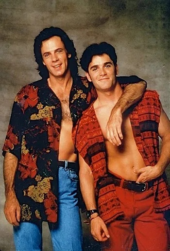 Yannick Bisson young with rick springfield