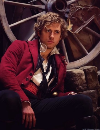 aaron tveit hot in les miserables