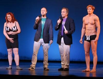 jordan dean underwear - mamma mia presentation for 2011 broadway unites