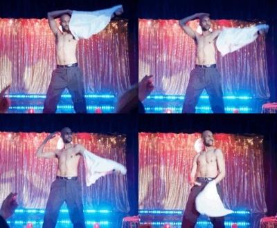 keegan-michael key shirtless stripper in playing house