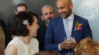 keegan michael key wedding to elisa pugliese