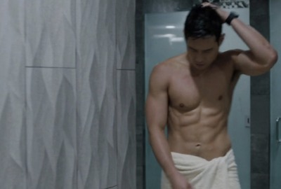 raymond lee shirtless in here and now