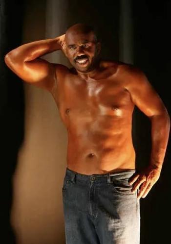 steve harvey shirtless body
